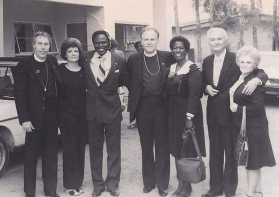 Archbishop Benson Idahosa in His Early Ministry