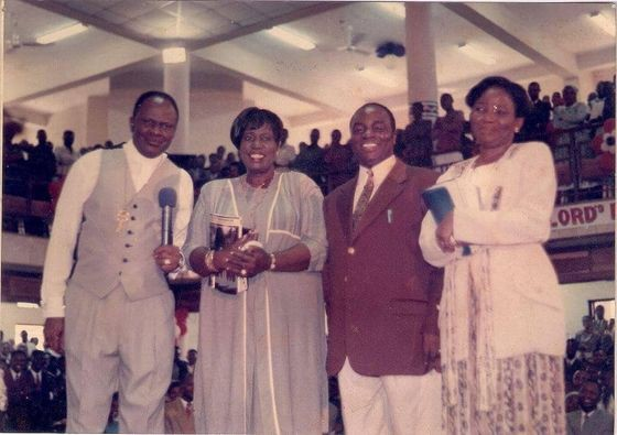dedication of the new Winners' facility on 30th December 1995 by Archbishop Benson Idahosa