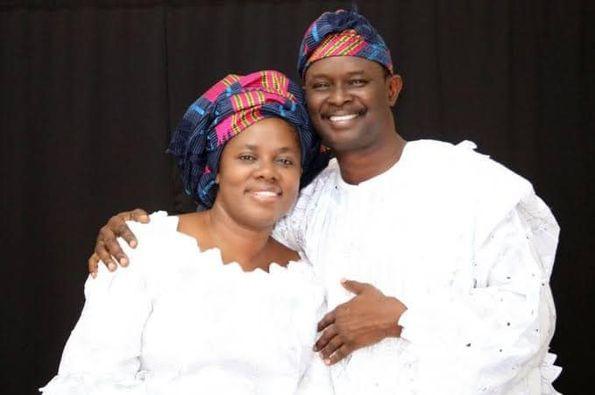 Mr and Mrs Mike Bamiloye