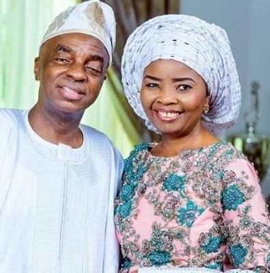 Mr and Mrs Oyedepo