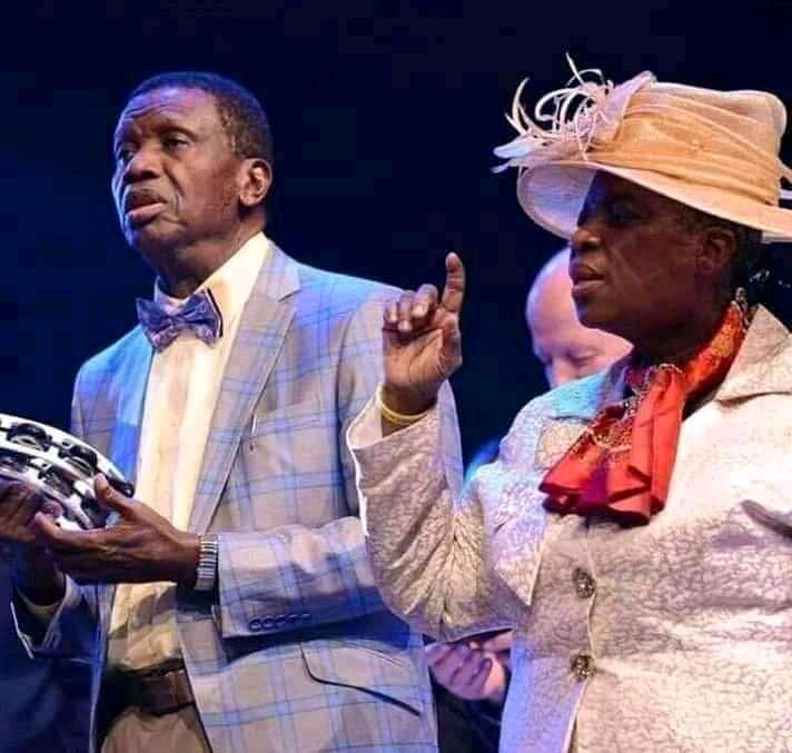 Daddy Enoch And Mommy Folu Adeboye
