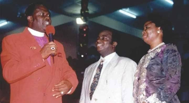 Archbishop Benson Idahosa and Bishop David Oyedepo