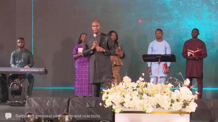Apostle Joshua Selman at Koinonia Abuja